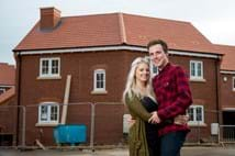 Couple find dream home at Help to Buy Show