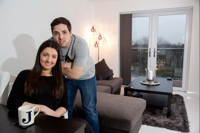 Jenny and Andrew bought their first home through Shared Ownership