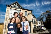 The Lee family finally get their dream home thanks to Help to Buy