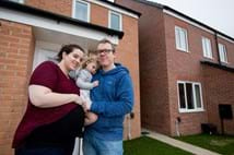 Help to Buy supports couple to buy dream home in time for new arrival