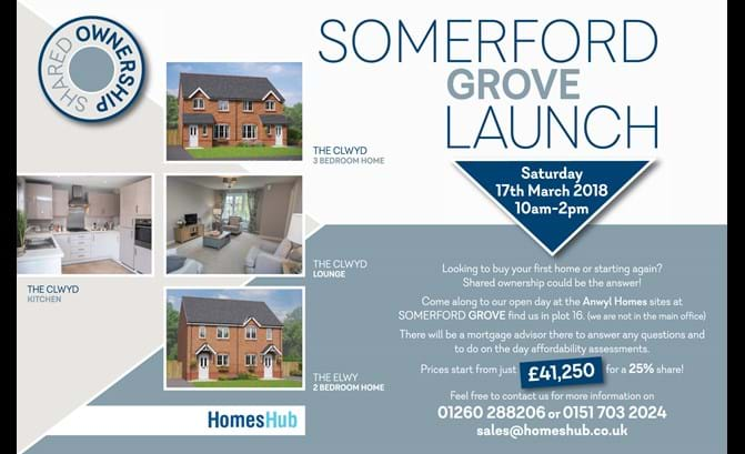 Somerford Grove Launch